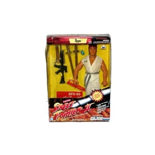 12 Inch Gi Joe Buy - G.I. Joe Street Fighter II Ryu 12