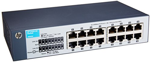 HP 16-Port Switch, Unmanaged (J9662AS#ABA) (16 Hp Switch Port)