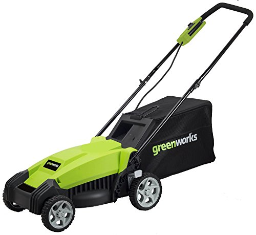 Greenworks 14-Inch 9 Amp Corded Lawn Mower MO14B00
