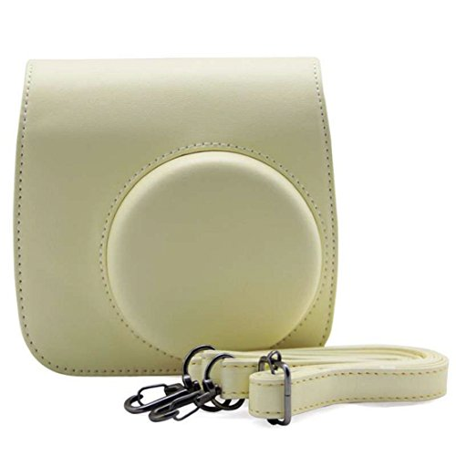 TowallmarkClassic Colorful PU Leather Camera Case Bag For