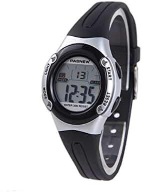 New multifunction water-proof sport digital watch for children/ black