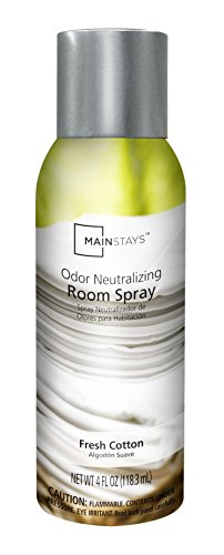 Mainstays Fresh Cotton Single Room Spray, 4 Fl Oz (Bedside Table Futon)