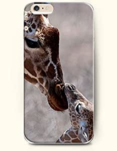 OOFIT Samsung Note 3/Mother Giraffe Kissing its baby