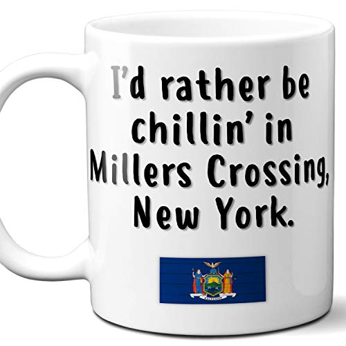 Millers Crossing New York Coffee Mug Souvenir Gift.