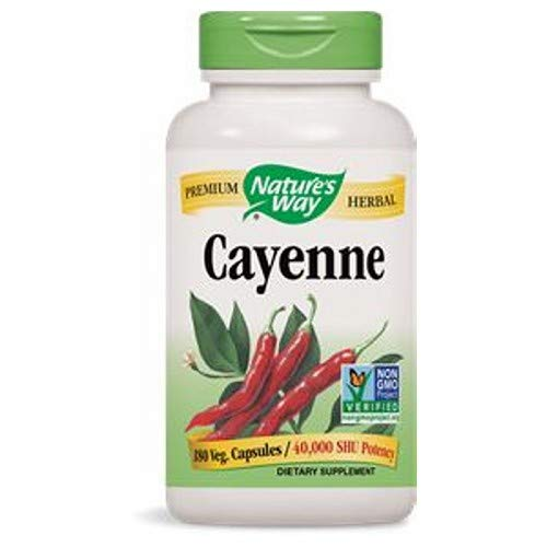 Nature's Way, Cayenne, 180 Capsules ()