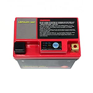 YTX4L-BS Lithium Ion Sealed Battery 12V - 120 CCA Replaces: YB4L-B, CB4L-B, GM4-3B and other 4L-B 4Amp Batteries (MMG1)