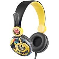 Transformers HP1-01096 Over the Ear Kids Safe Headphones - Red