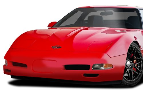 Duraflex ED-TJG-483 C5 Conversion Front Bumper Cover - 1 Piece Body Kit - Compatible For Chevrolet Corvette 1984-1996