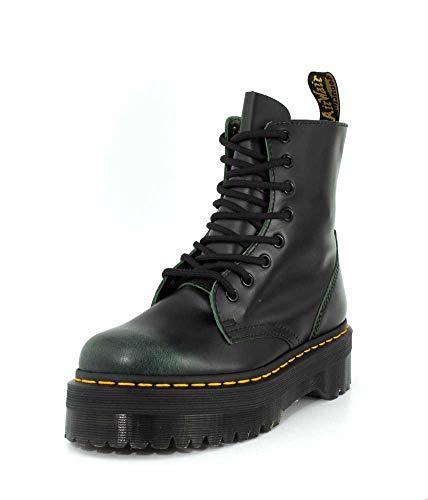 Dr 8 Green Eyelet Jadon Boots Leather Martens Womens vrtvq