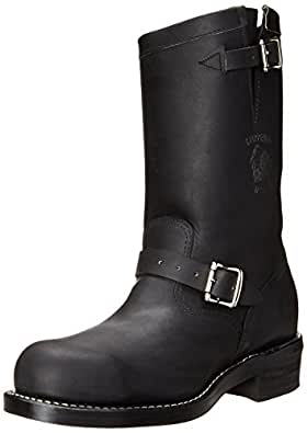 "Chippewa Men's 11"" Steel Toe 27863 Engineer Boot,Black,5 D US"