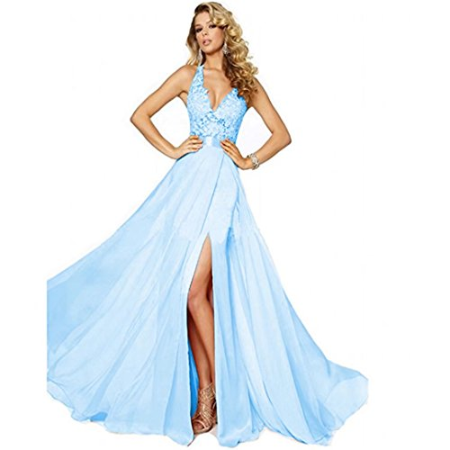 issa blue lace dress - 9