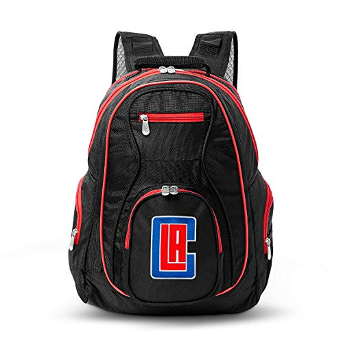 NBA Los Angeles Clippers Colored Trim Premium Laptop Backpack
