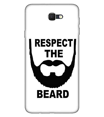for Samsung Galaxy J7 Respect The Beard Printed: Amazon in