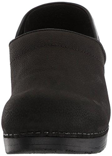 Womens Clog Work Black Oil Sanita Textured Professional Womens Sanita Shoe REWUSx