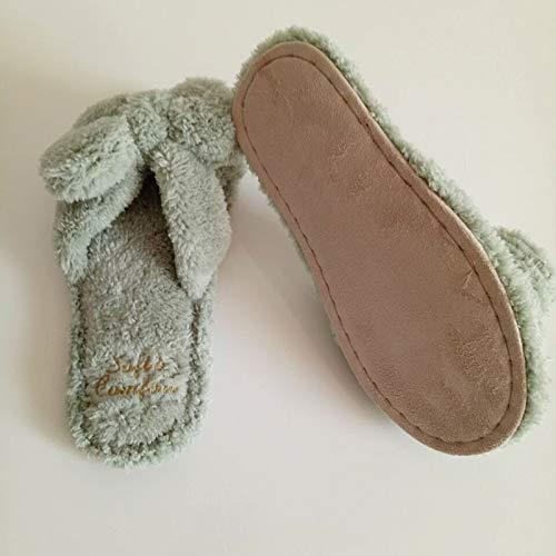 Per Corallo Rosa In Pantofole Di Pile Shoe Silenziose Qsy Da Antiscivolo Casa Passeggio La qpfOXA