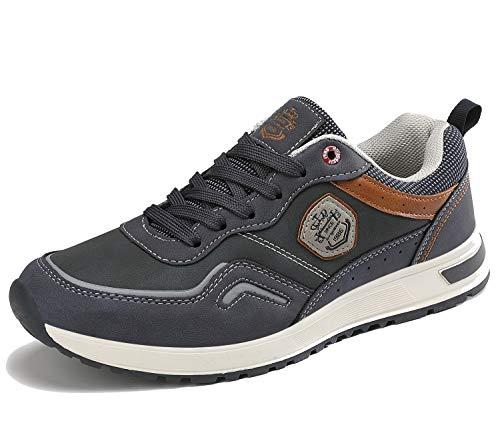 ARRIGO BELLO Freizeitschuhe Herren Sneakers Schuhe Wanderschuhe Walkingschuhe Berufsschuhe Sportschuhe Outdoor Leichtgewicht Größe 41-46
