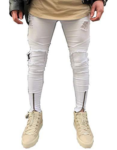 Pantalones Vaqueros De Los Hombres Jeans Ssig Moda Tamaños Cómodos Azul Slim Fit Algodón Cómodo Suave Pantalones Elásticos De Alta Elástico Ropa J