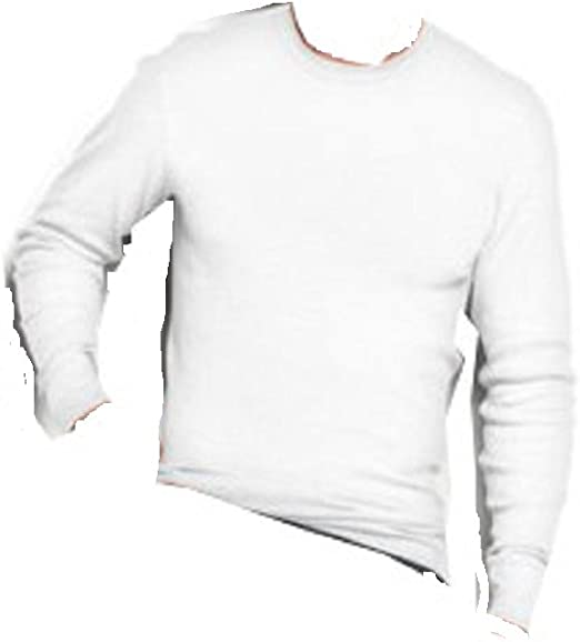 Alfani Mens Medium Waffle Knit Long Sleeve Thermal Shirt
