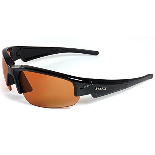 Brand NEW Maxx Phantom 2.0 High Definition Sunglasses - Black-Standard Adult-Black