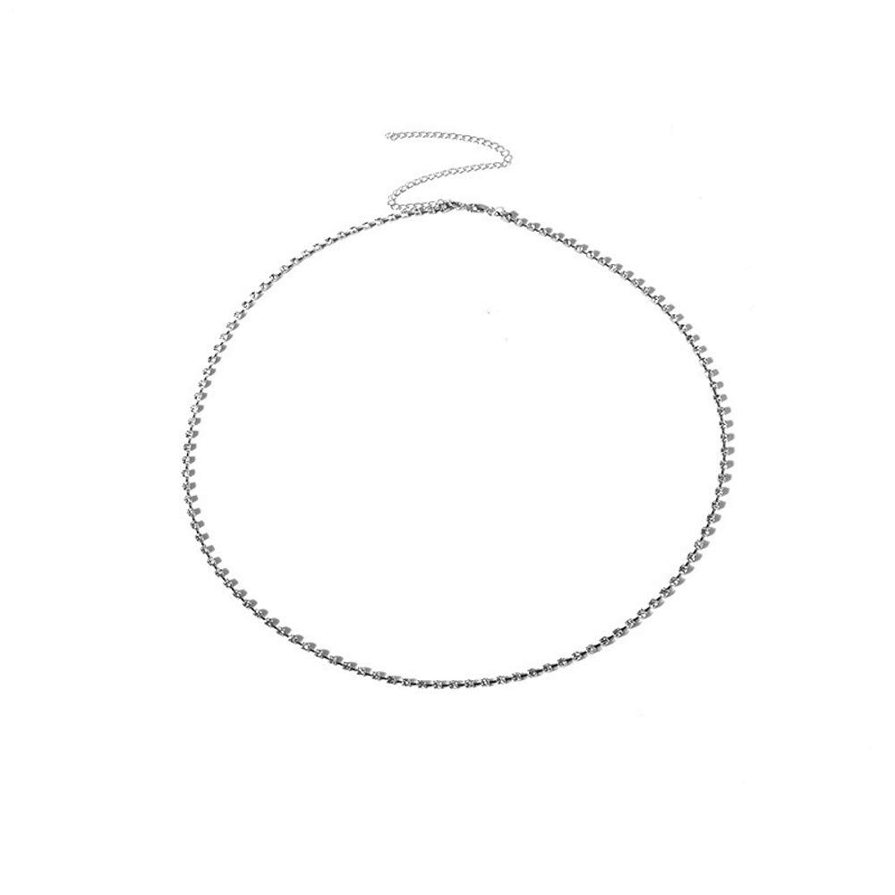 Geetobby Waist Belt Chain Vintage Dangle Dancing Tassel Body Chain Bikini Beach Body Jewelry for Women Girl Silver Gold Tone