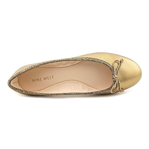 special section beautiful and charming 2019 original Nine West Classica Womens Size 7.5 Bronze Ballet Flats Shoes ...