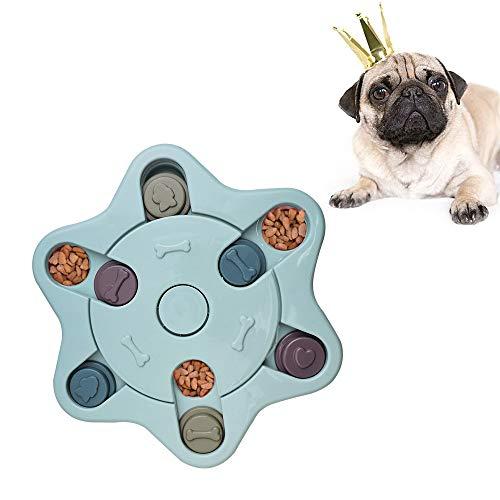 Andiker Hundehirnspiele Hunde Lernspielzeug, haltbares interaktives Hund-Spielzeug, verbessern IQ Hundefutter Spielzeug…