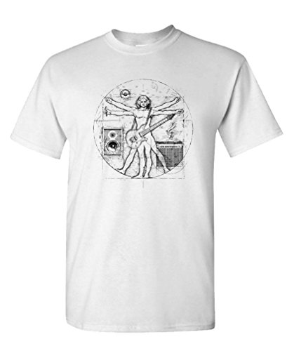 DAVINCI MUSIC vitruvian parody T Shirt