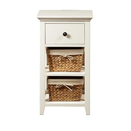 Hooker Bathroom Furniture (Pulaski DS-A049-857 Woven Wooden Basket Bathroom Storage Cabinet)