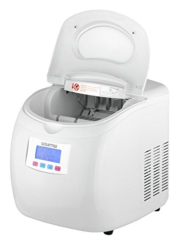 ... Compact Portable Electric Ice Maker, Express Machine with 3 Quart