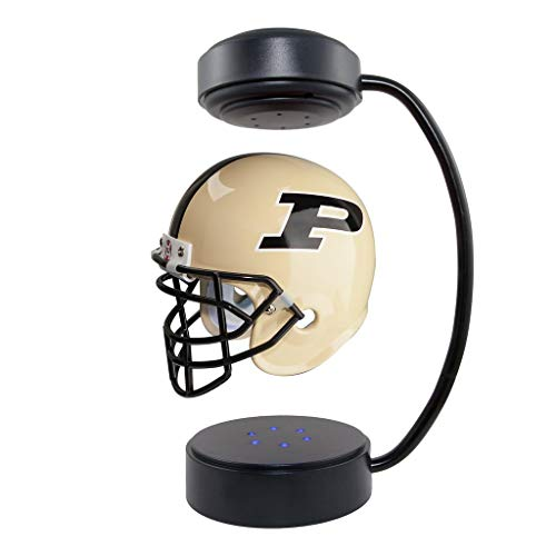 Purdue Boilermakers NCAA Hover Helmet - Collectible Levitating Football Helmet with Electromagnetic Stand
