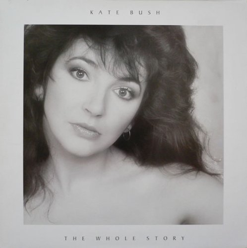 Original album cover of The Whole Story by Kate Bush