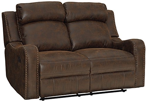 Standard Furniture 4148631 Bankston Loveseat with Power Motion Brown