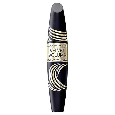 2 x Max Factor Velvet Volume False Lash Effect Mascara 13.1ml - Black/Brown - Velvet Lens