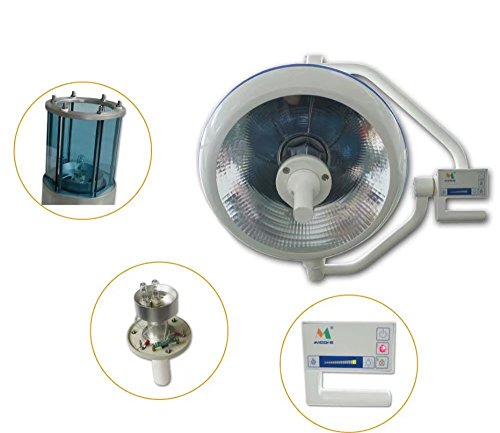 Zgood 120W Overall Reflection Halogen Shadowless Surgery Lamp D500 Ceiling-Rack Lamp