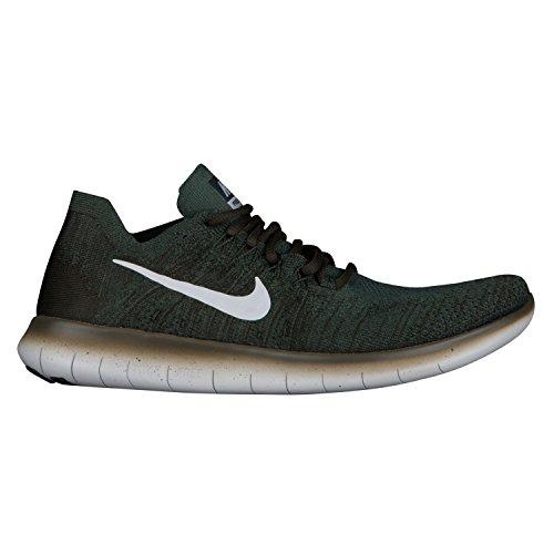 Nike Free Rn Flyknit 2017 Løbesko Vintage Grøn / Ren Platin fkoYV