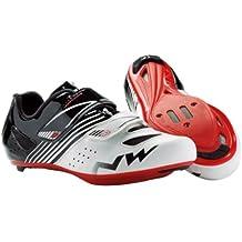 Northwave White-Black-Red 2017 Torpedo Kids Cycling Shoe