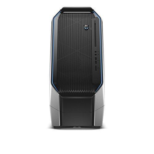 Alienware Area-51 a51R2-8235SLV Tower Desktop (Intel Core i7-5820K 3.3GHz Processor, 16 GB RAM, 2 TB HDD + 128 GB SDD, Windows 10) Epic Silver (Certified Refurbished) ()