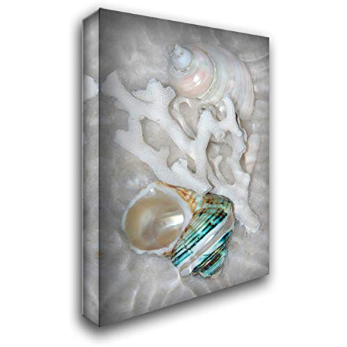 Underwater Light Waves IV 28x40 Gallery Wrapped Stretched Canvas Art by Robertson, Leda (Lightwave 4 Bar)