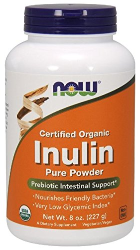 NOW Foods inuline bio poudre, 8 oz
