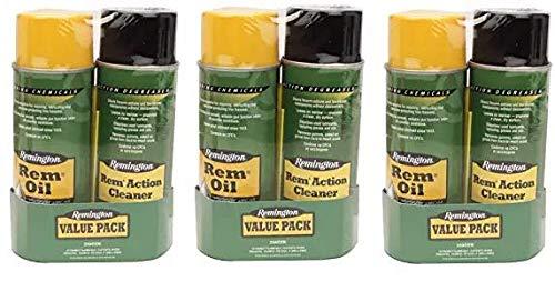 Remmington Oil & Action Cleaner, 10 oz (Thrее Расk)