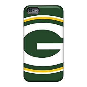 Perfect Cell-phone Hard Cover For Apple Iphone 6s (QXO2148LZTg) Unique Design Colorful Green Bay Packers Skin