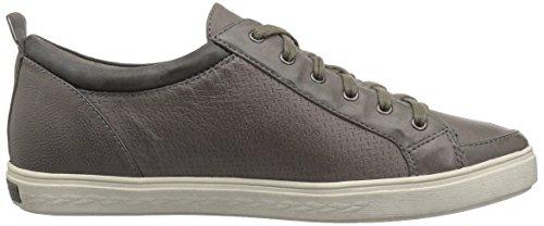 Leather Grey Lace Willa Hill to Sneaker Cobb Women's Toe wWq18TRxgU