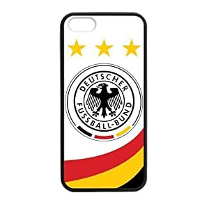 2014 World Cup Germany Flag Logo Case For Iphone 5/5S Cover case