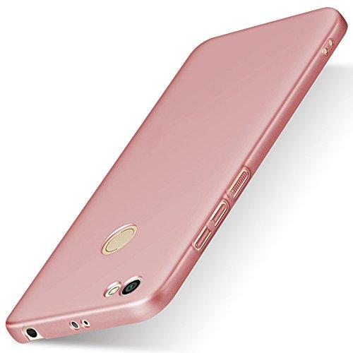 SHUNDA Funda Xiaomi Redmi Note 5A Prime, Ultra-Delgado Mate Carcasa [ Hard PC ] Ultra Slim Cubierta Anti-Rasguño Protectora...