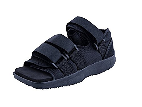 Premium Childrens Post Op Broken Toe / Foot Fracture Square Toe Walking Shoe Cast – Pediatric – Fits little kids sizes eleven-1 (Approx 3.5 – 6 years previous) – DiZiSports Store