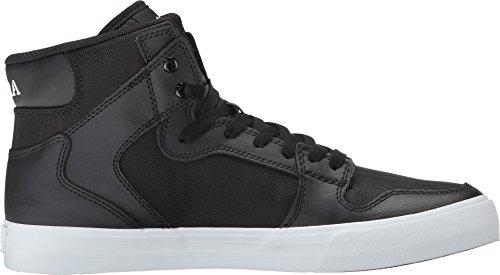 Supra VAIDER S28058 Unisex - Erwachsene Sportive Sneakers Nero