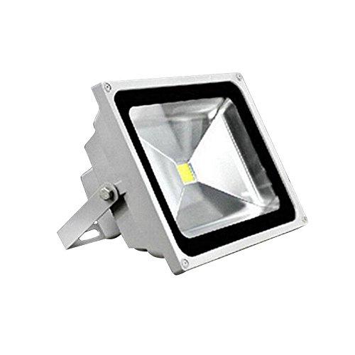 OUKANING Foco proyector LED 50W para exteriores, Blanco frio 6000 ...