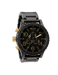Nixon 51-30 Chrono Matte Black/Gold A083 1041 [Watch]