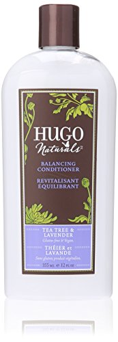 Hugo Naturals Conditioner, Tea Tree & Lavender, 12 Ounce Bottle