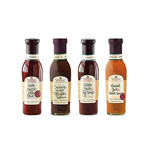 Stonewall Kitchen Grille Sauce & Rub Collections & Gift Sets (4 Piece Classic Grille Sauces)